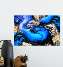 Load image into Gallery viewer, Blue Abstraction - Poster Art