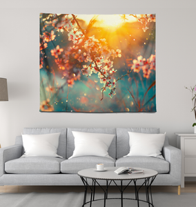 Cherry Blossoms - Wall Tapestry