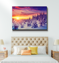 Load image into Gallery viewer, Winter Sunrise - Wrapped Canvas Art