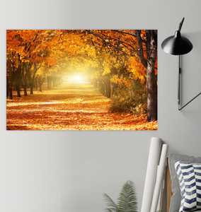 Autumn Road - Poster Art