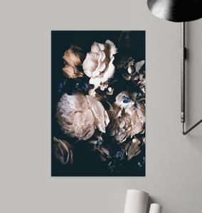 Tranquil Roses - Poster Art