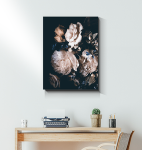 Tranquil Roses - Wrapped Canvas Art