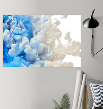 Load image into Gallery viewer, Blue And White Ink - Poster Art