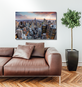 New York City Skyline - Premium Acrylic Print