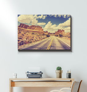 Road Trip - Wrapped Canvas Art