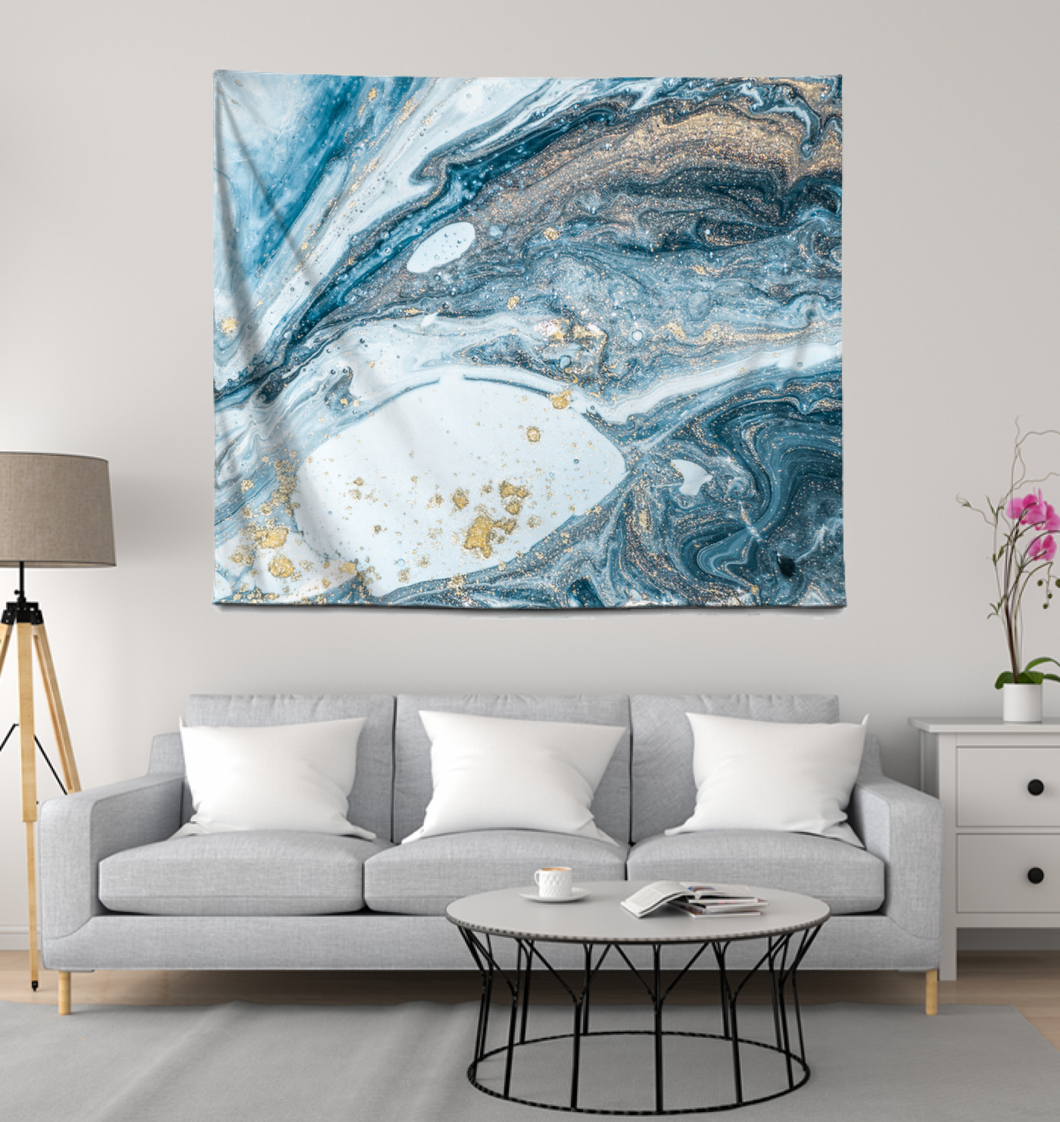 Abstract Water - Wall Tapestry
