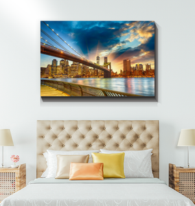 Dreams Of New York - Wrapped Canvas Art