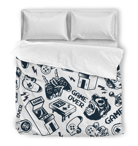 Game Over - Duvet Cover