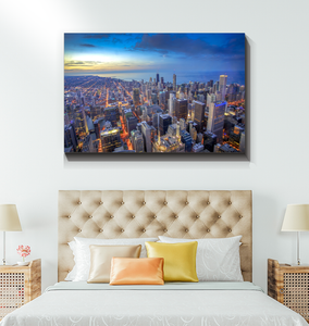 Chicago Skyline - Wrapped Canvas Art
