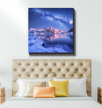 Load image into Gallery viewer, Milky Way In The Arctic - Wrapped Canvas Art