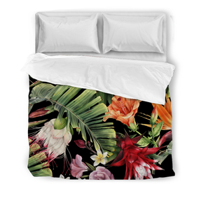 Tropical Flowers - Duvet Cover