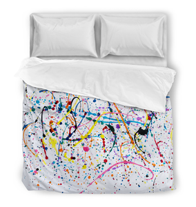 Splattered Paint - Duvet Cover