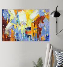 Load image into Gallery viewer, Cubism City Life - Poster Art