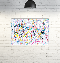 Load image into Gallery viewer, Splattered Paint - Wrapped Canvas Art