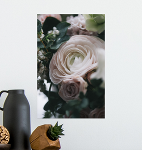 The Beauty Of Roses - Poster Art