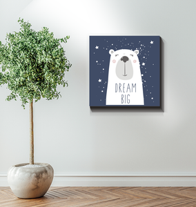 Dream Big - Wrapped Canvas Art