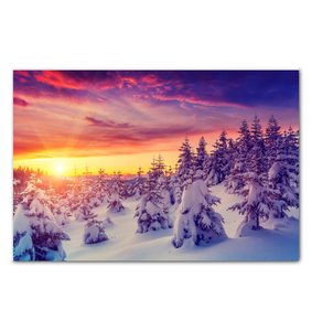 Winter Sunrise - Wrapped Canvas Art