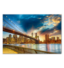 Load image into Gallery viewer, Dreams Of New York - Wrapped Canvas Art