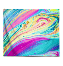 Load image into Gallery viewer, Rainbow Marble Swirls - Wall Tapestry