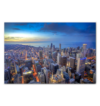 Load image into Gallery viewer, Chicago Skyline - Wrapped Canvas Art