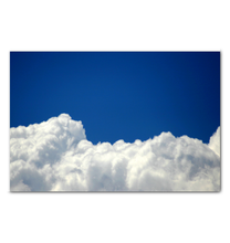 Load image into Gallery viewer, Floating On Clouds - Wrapped Canvas Art