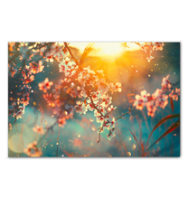 Load image into Gallery viewer, Cherry Blossoms - Wrapped Canvas Art