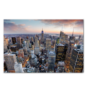 New York City Skyline - Wrapped Canvas Art