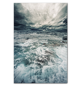 Crashing Waves - Wrapped Canvas Art