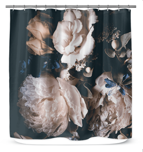 Tranquil Roses - Shower Curtain