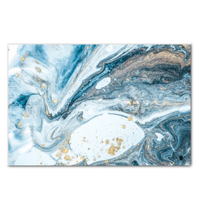 Abstract Water - Wrapped Canvas Art