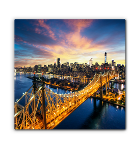 New York City - Wrapped Canvas Art