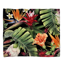 Load image into Gallery viewer, Tropical Flowers - Duvet Cover