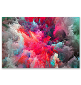 Clouded Colorfully - Poster Art