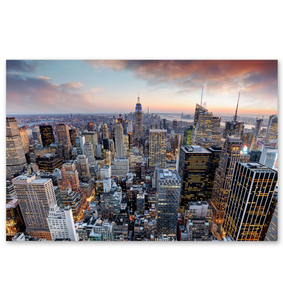 New York City Skyline - Poster Art