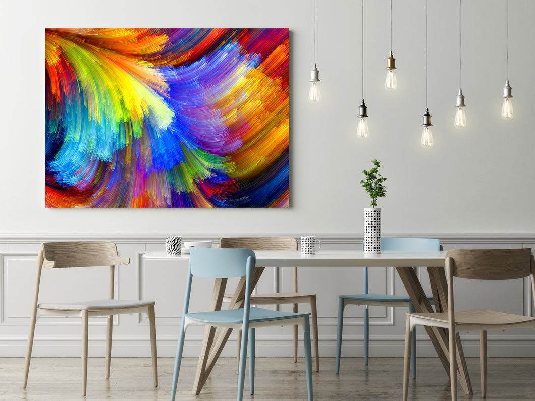 Feathered - Wrapped Canvas Art