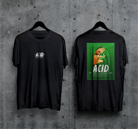 Acid Face T-Shirt - Techno Germany Store