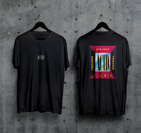 1990 Acid T-Shirt - Techno Germany