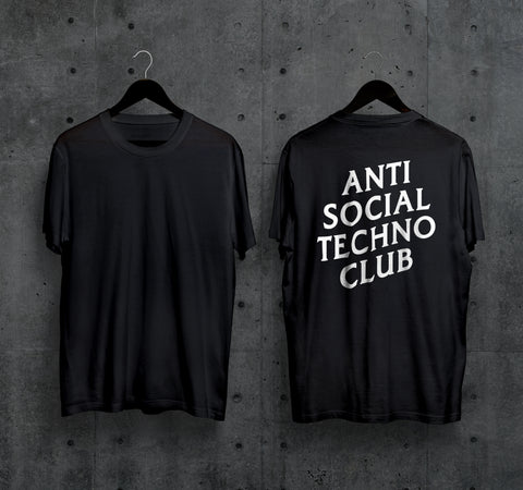 Anti Social Techno Club T-Shirt - Techno Germany Store