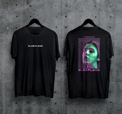 Sleepless T-Shirt - Techno Germany Store