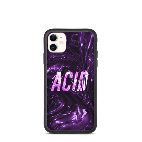 Purple Acid iPhone case - Techno Germany Store
