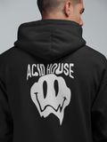 Trippy Acid House Hooded Sweater - Techno Germany Store
