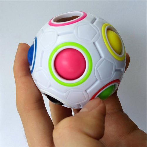 Rainbow Puzzle Ball - Bargainsfan