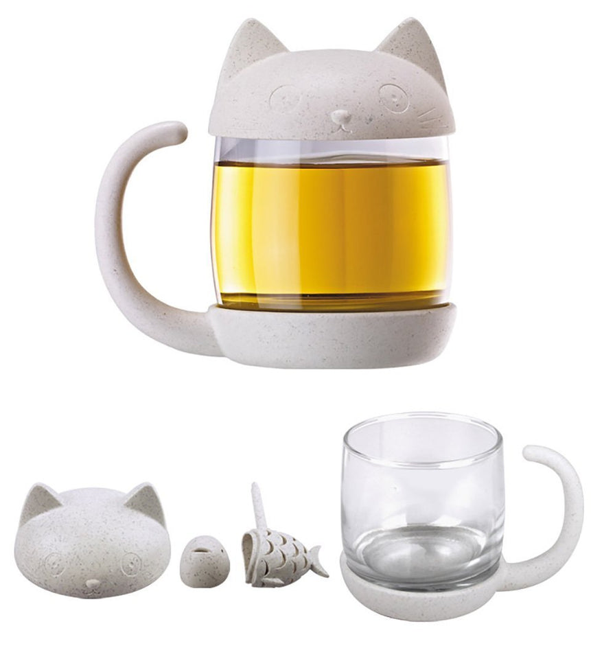 Cat Fish Tea Infuser - Bargainsfan