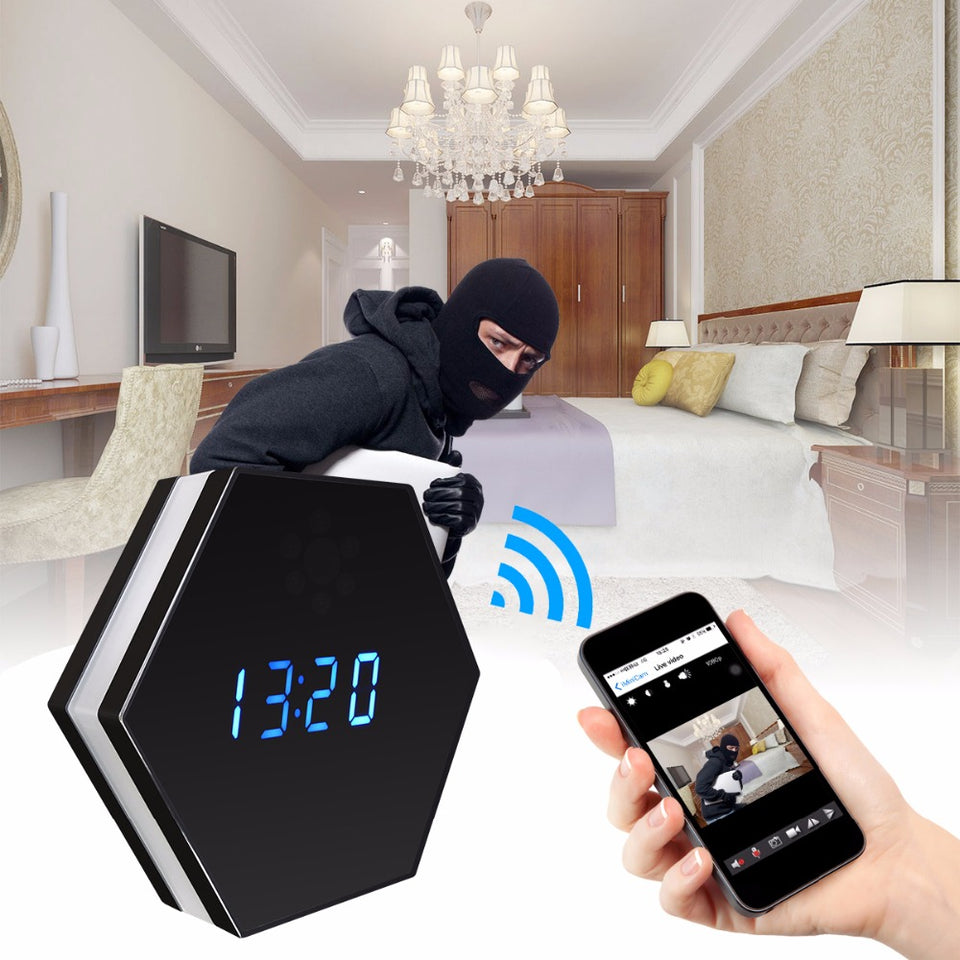 Spy Camera Wall Clock - Bargainsfan