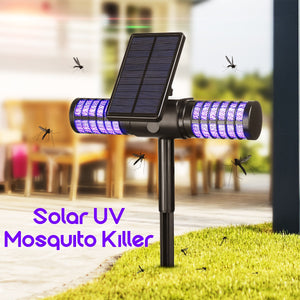 Solar Powered Mosquito Killer UV LED Lamp IP65 - Bargainsfan