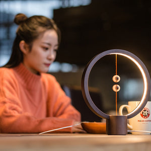 Wood Magnetic Table Lamp - Bargainsfan