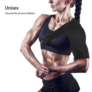 Adjustable Gym Shoulder Support Brace Guard - Bargainsfan