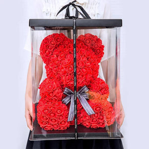 Rose Teddy Bear the Perfect Valentines Gift - Bargainsfan