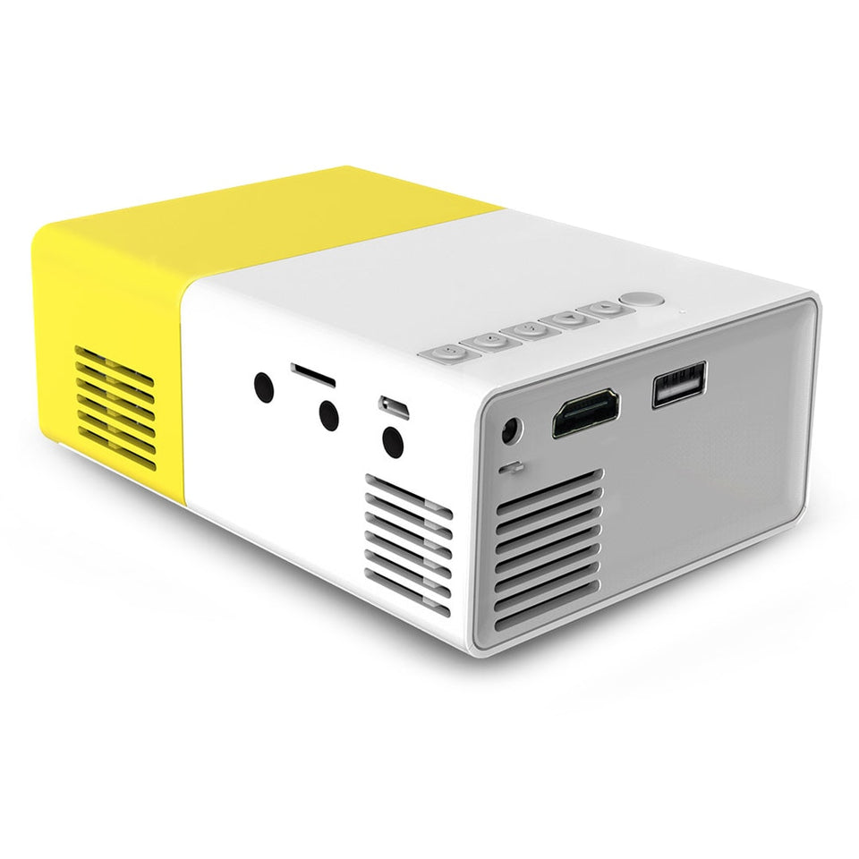 1080P Mini Portable Projector - Fits in the Palm of Your Hand - Bargainsfan