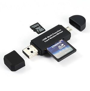 2 In 1 USB OTG Android Card Reader - Bargainsfan